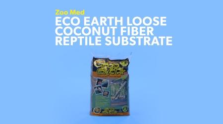 Soil less Coconut Husk Loose Coconut Fiber Pet Reptile Terrarium Substrate 80g