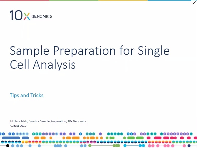 Sample Preparation for Single Cell Analysis: Tips and Tricks