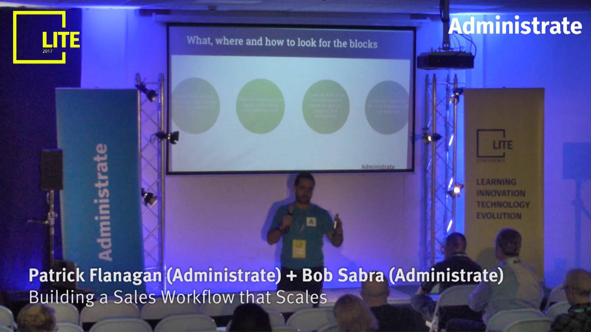 Building a Sales Workflow that Scales [Patrick Flanagan & Bob Sabra]