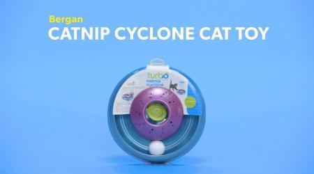 Bergan Catnip Cyclone Cat Toy Chewy Com