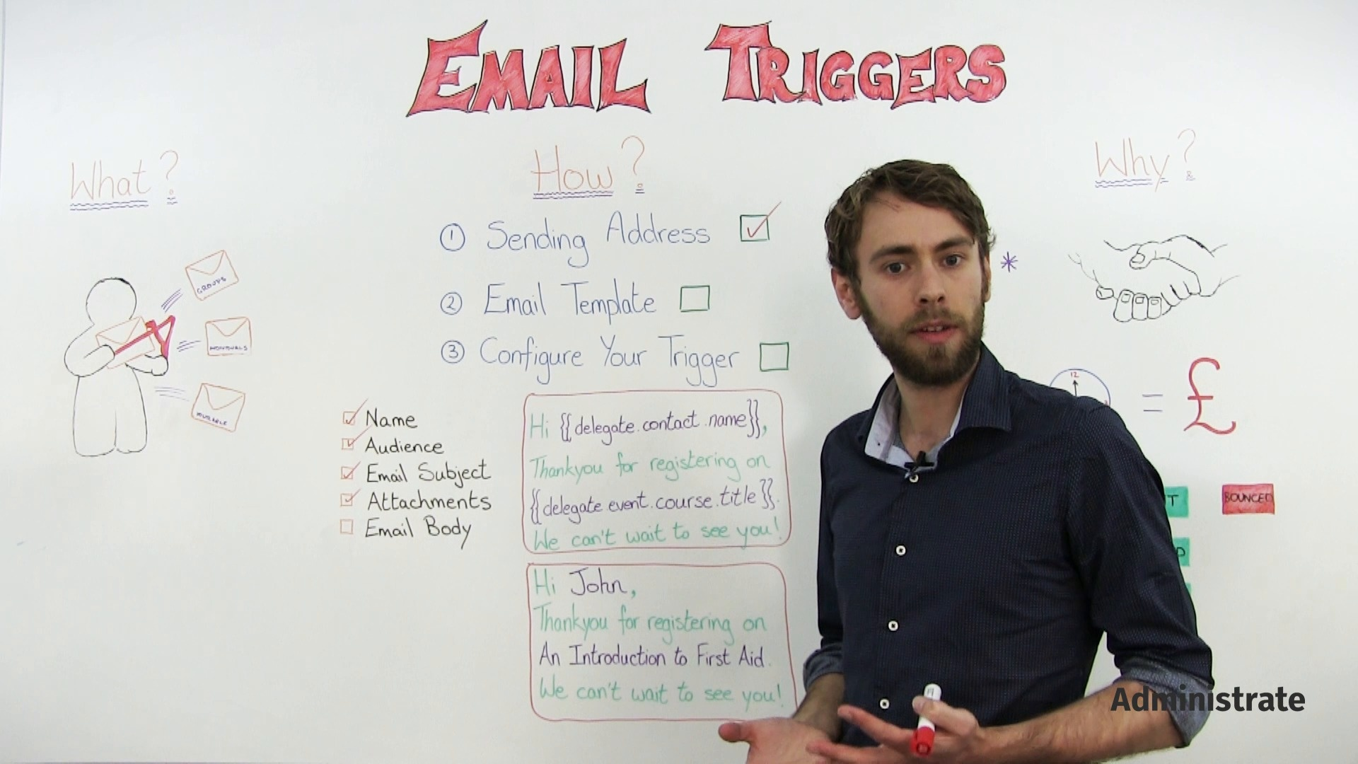 Save Training Management Time with Email Triggers - Administrate