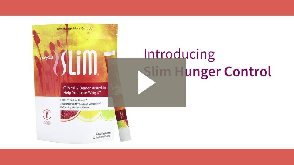 Plexus Slim Hunger Control Formula