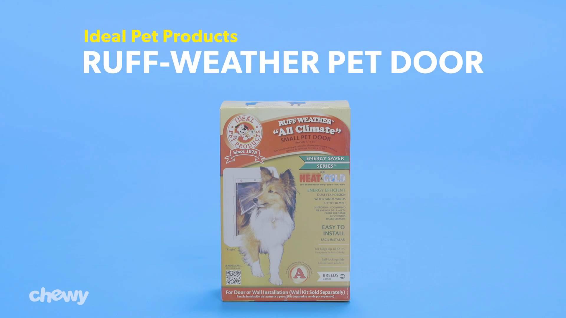6 Pack White Dog Mate Multi Insulation Dog Door