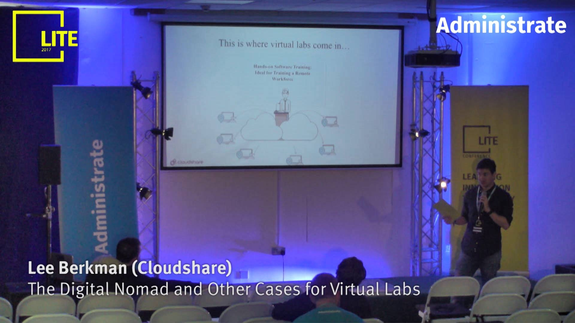 The Digital Nomad and Other Cases for Virtual Labs [Lee Berkman]