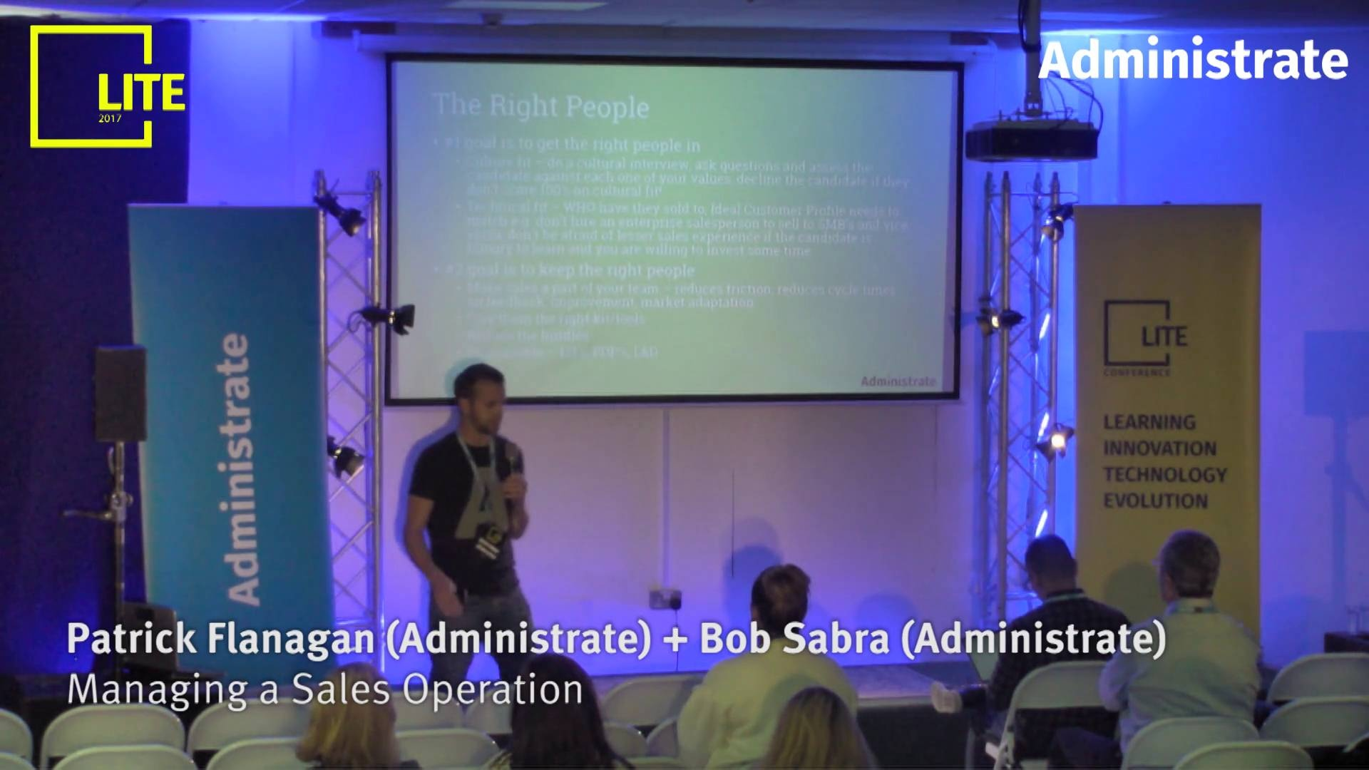 Managing a Sales Operation [Patrick Flanagan & Bob Sabra]